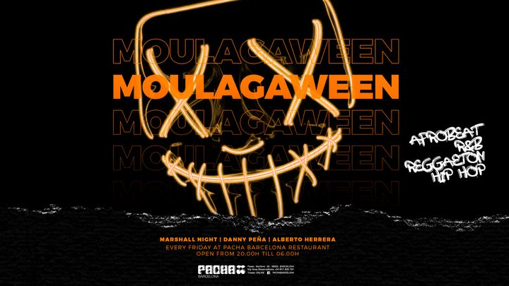 Cover for event: Halloween edition | MOULAGA at Pacha Barcelona