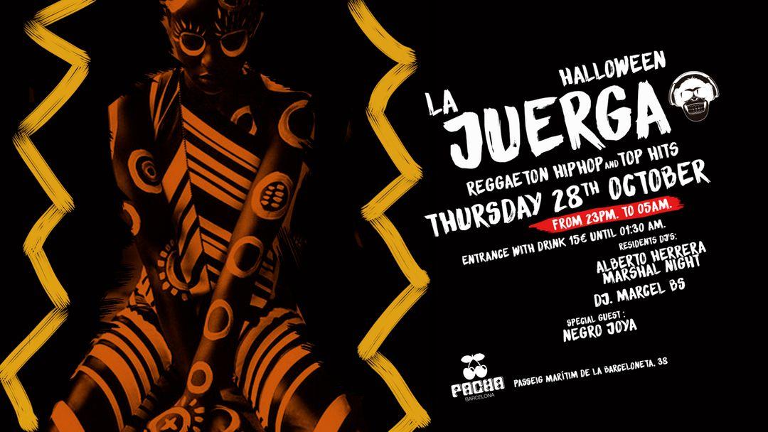 Halloween edition: Pacha Barcelona pres. LA JUERGA event cover