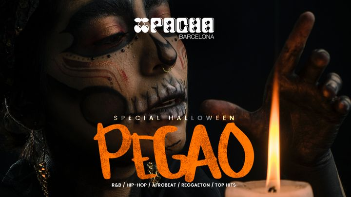 Cover for event: Halloween edition: Pacha Barcelona pres. PEGAO