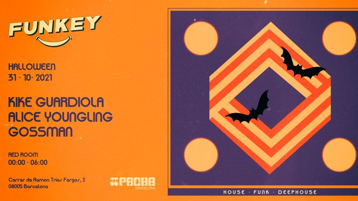 Cover for event: Halloween edition | RED ROOM pres. Funkey