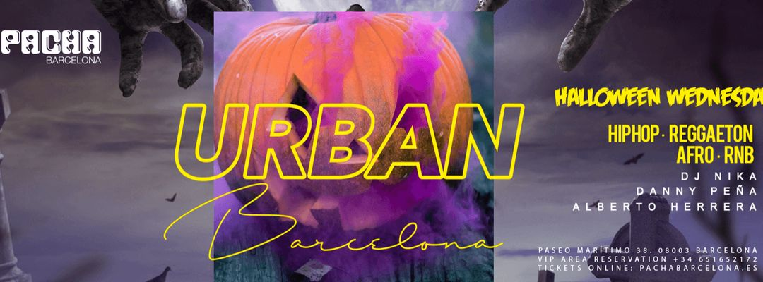 Capa do evento Halloween Edition | URBAN