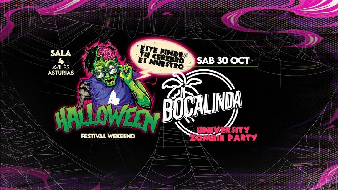 HALLOWEEN FEST WEEKEND-BOCALINDA!!! SAB 30 OCT event cover