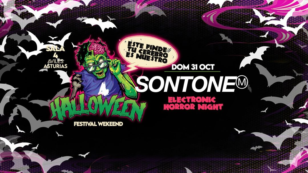 HALLOWEEN FEST WEEKEND-SONTONE!!! DOM 31 OCT event cover