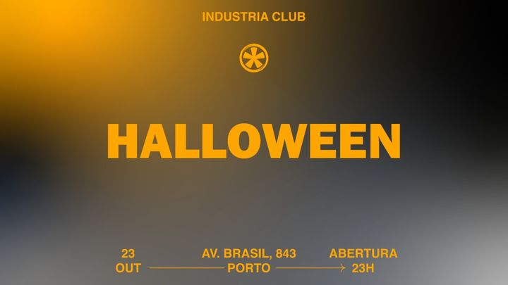 Cover for event: Halloween Industria Club