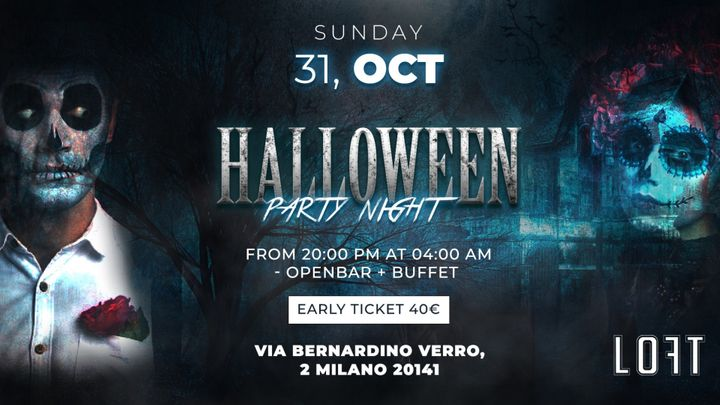 Cover for event: Halloween Party Night
