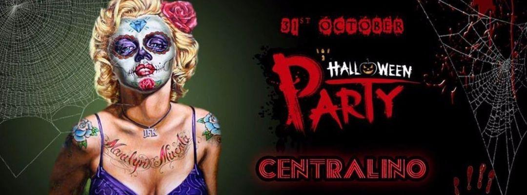 Cartel del evento HALLOWEEN TORINO PARTY | Centralino