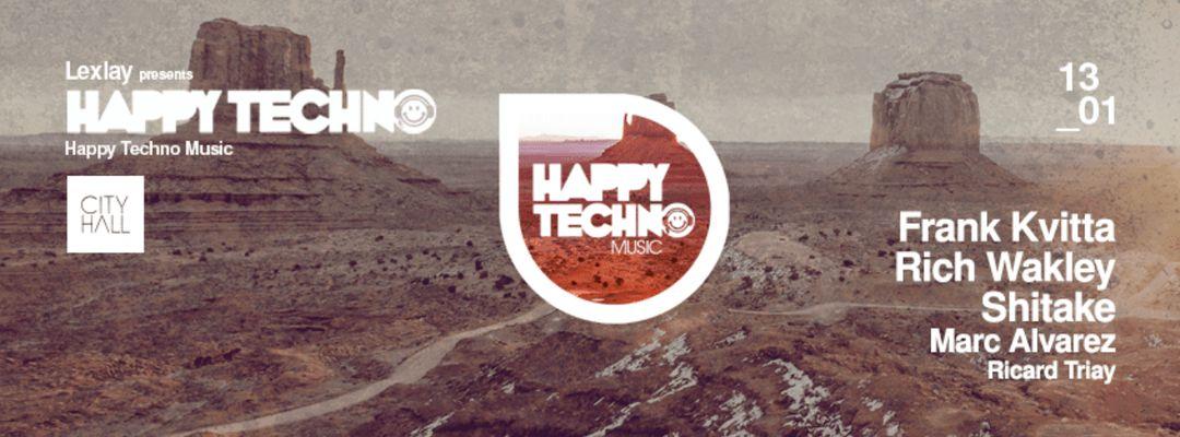 Cartel del evento Happy Techno with Frank Kvitta
