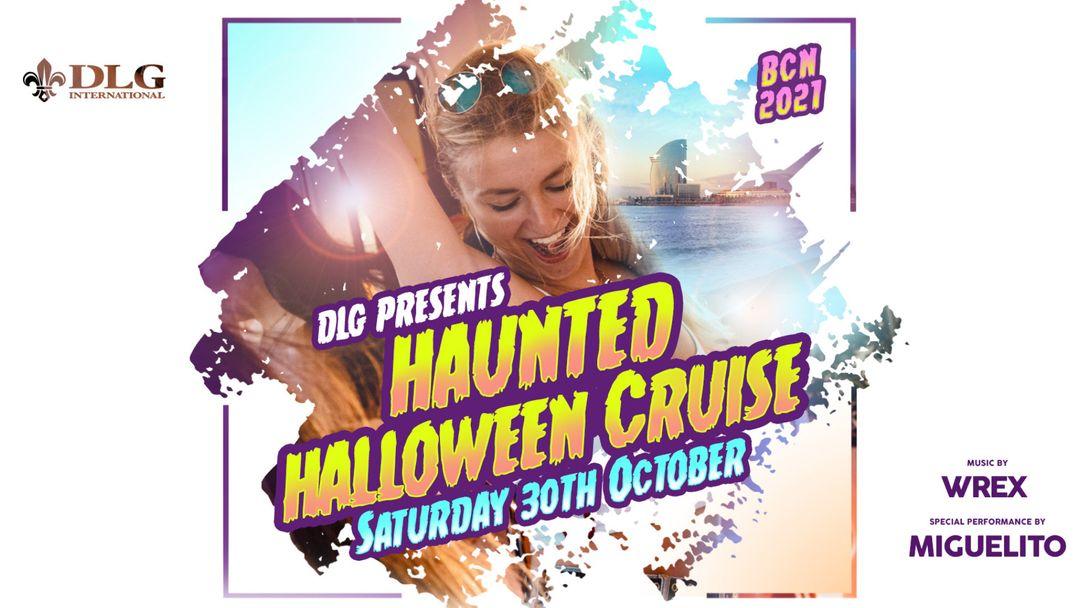 Cartel del evento Haunted Halloween Cruise