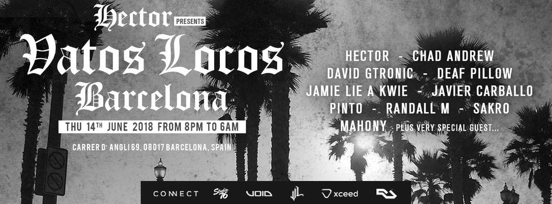 Cartel del evento Hector presents Vatos Locos - Off Week