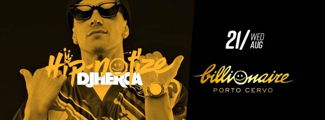 Cartel del evento HIP-NOTIZE FEAT DJ HERCA