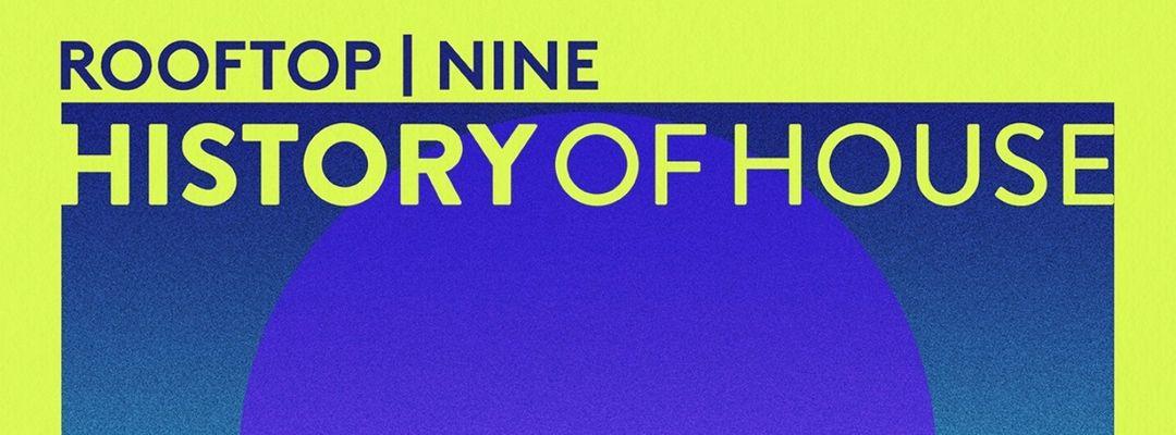 Cartel del evento History of House