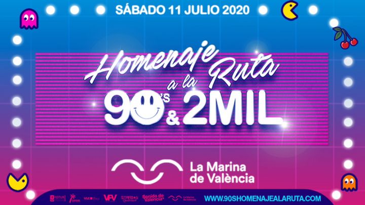 Cover for event: Homenaje a la Ruta 90's & 2MIL Valencia 2020