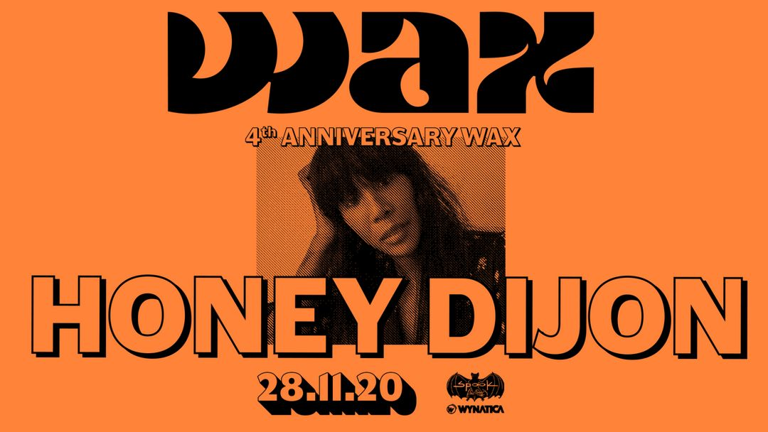 Honey Dijon / 4th Anniversary event cover