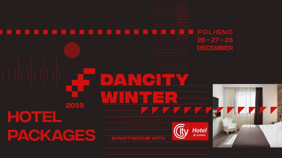Cartel del evento HOTEL PACKAGES - Dancity Winter 2019 - 26th / 27th / 28th December