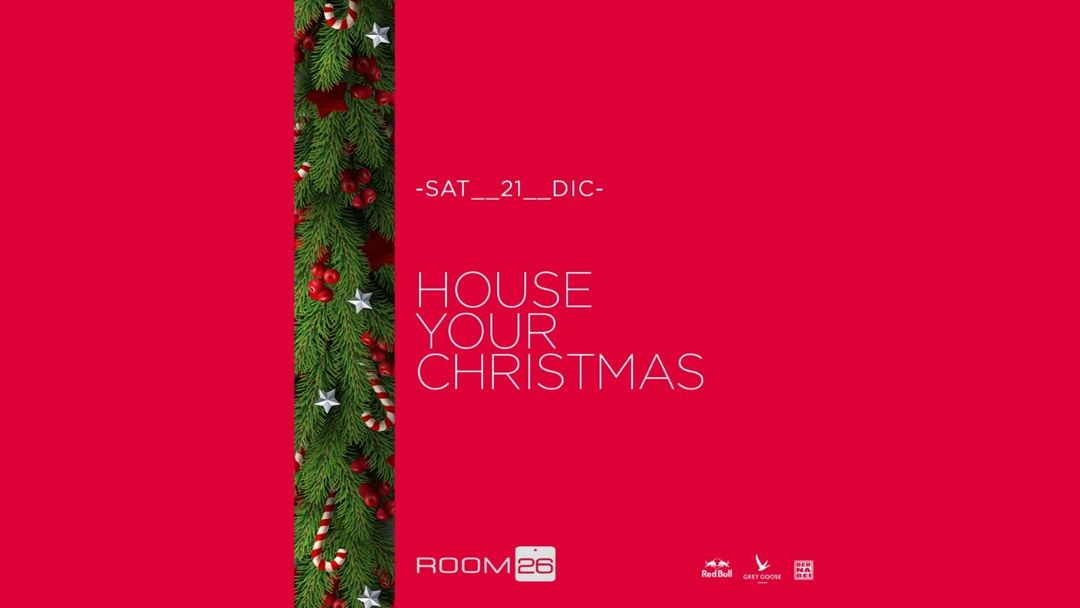 House your Christman-Eventplakat