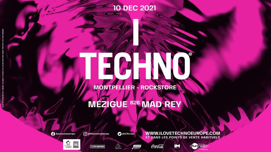 After I Love Techno 2021 @ROCKSTORE event cover