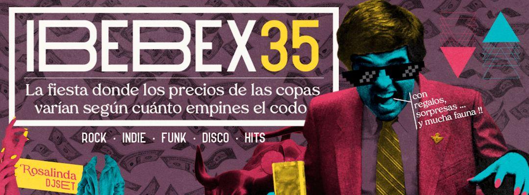 Cartel del evento IBEBEX 35