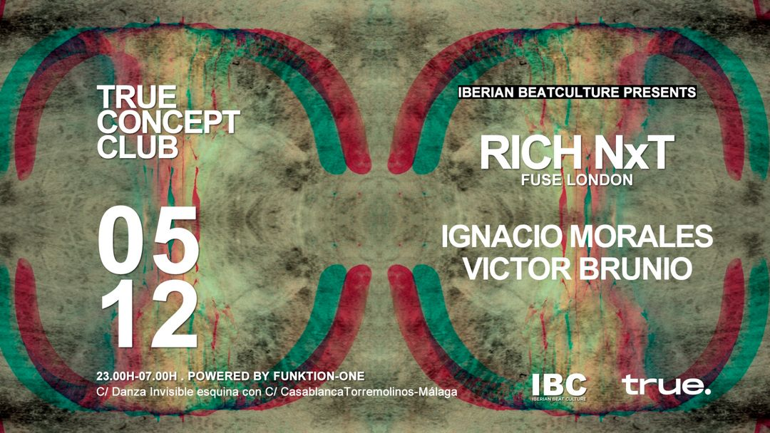 Iberian Beat Culture present RICH NxT event cover