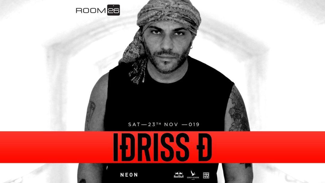 Idriss D-Eventplakat