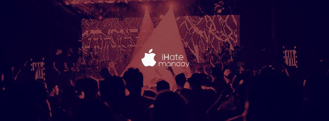 iHate Monday event cover