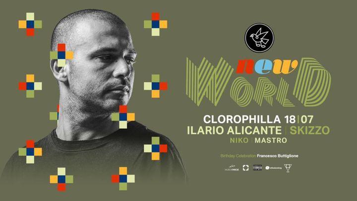 Cover for event: Ilario Alicante, Skizzo