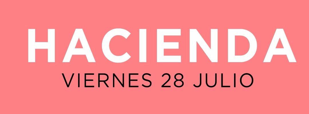 Cartel del evento Inauguración Hacienda X Arenal Sound