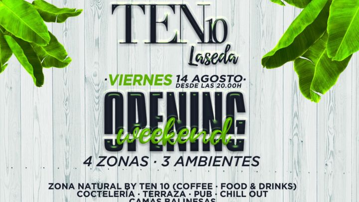 Cover for event: Ten 10 Laseda