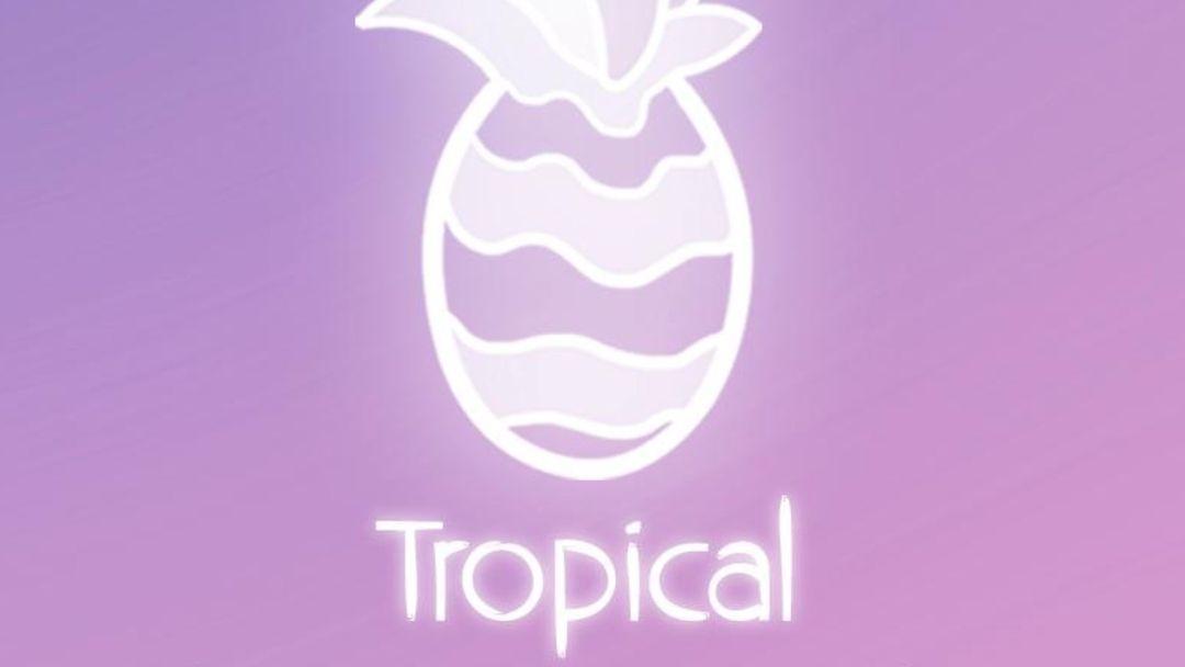 Cartel del evento Inauguración  Tropical Club