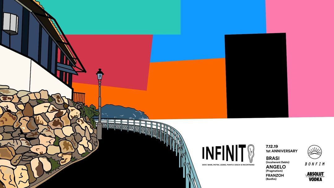 Capa do evento Infinito ∞  1st Anniversary