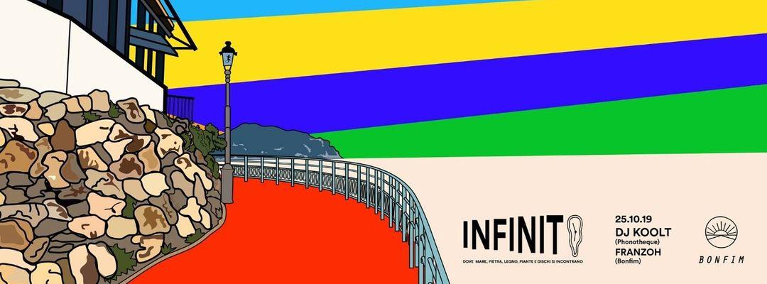 Infinito ∞  con Dj Koolt-Eventplakat