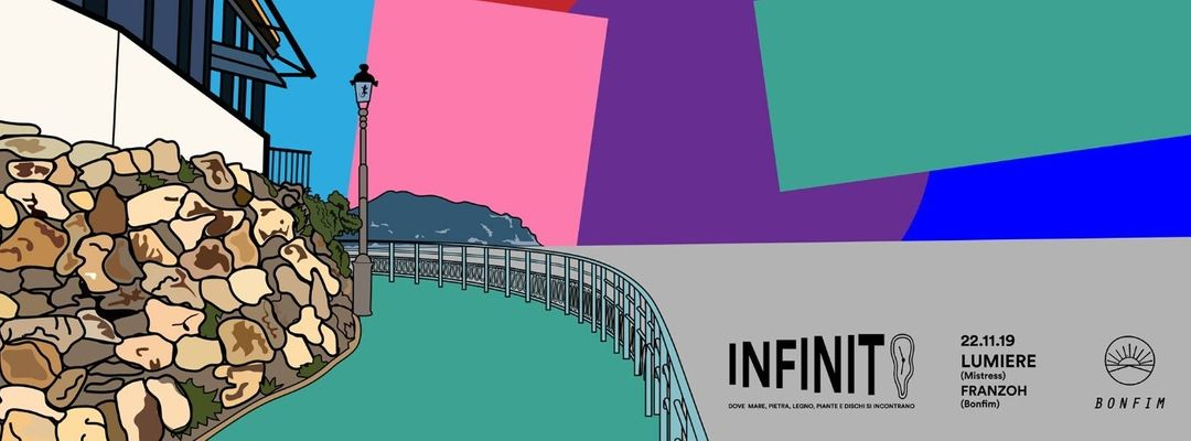 Cartell de l'esdeveniment Infinito ∞  con Lumière