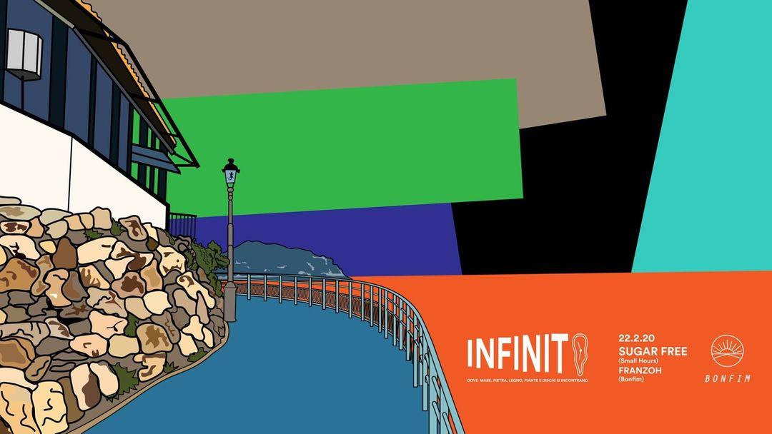 Cartel del evento Infinito con Sugar Free (Small Hours)