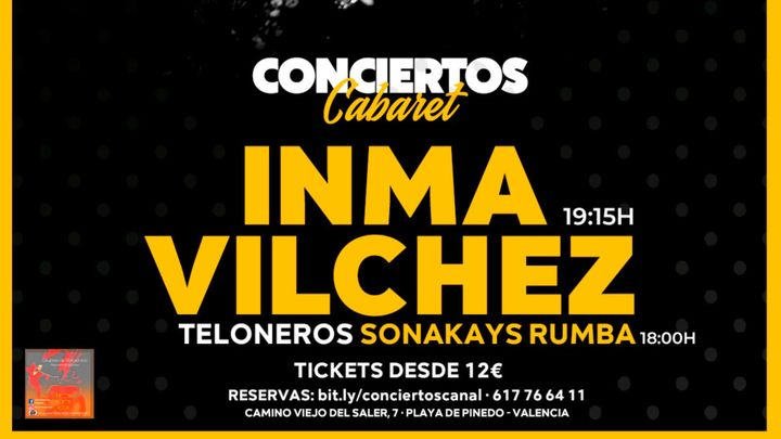 Cover for event: Inma Vilches