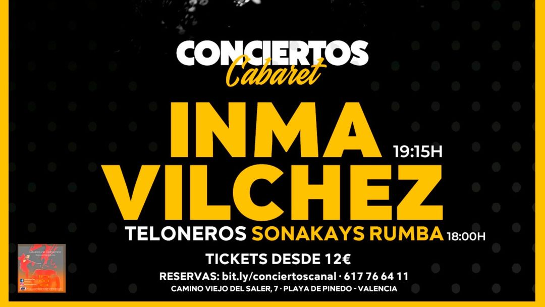 Inma Vilches event cover