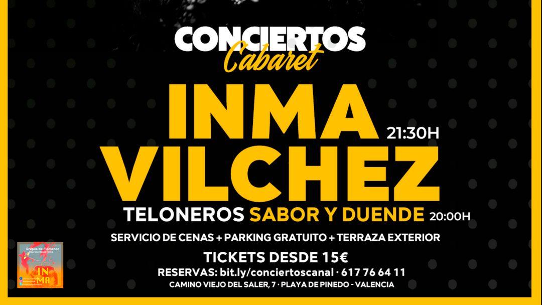 Inma Vilchez en concierto event cover