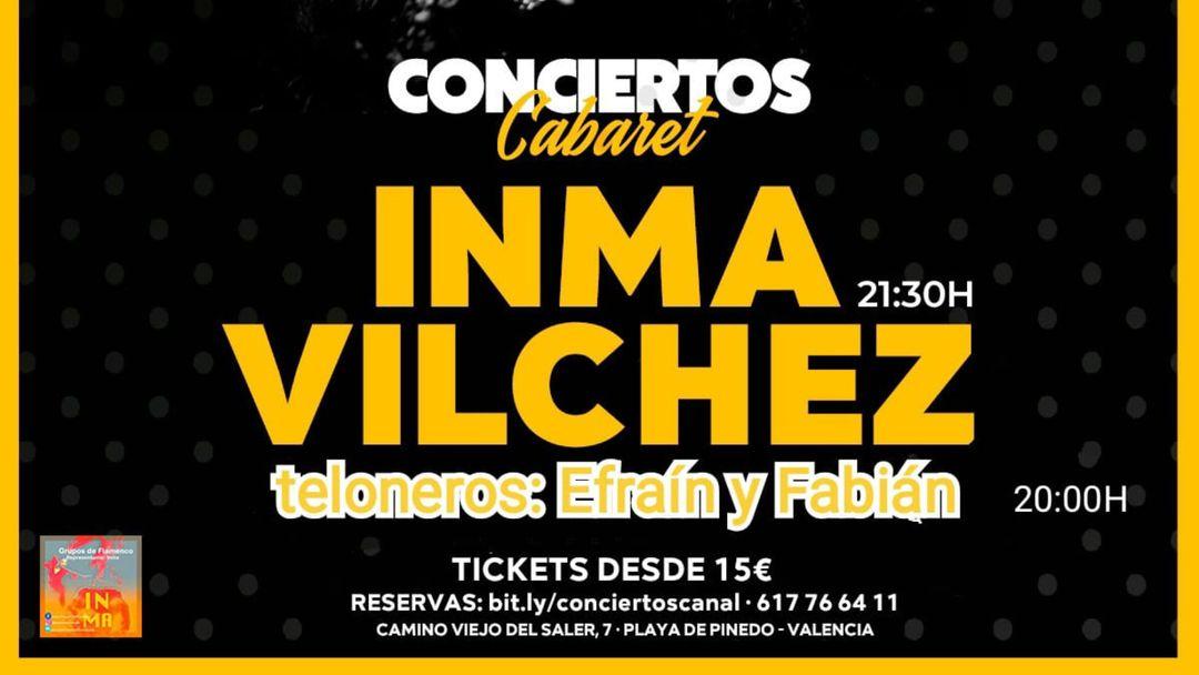 Cartel del evento Inma Vilchez en concierto