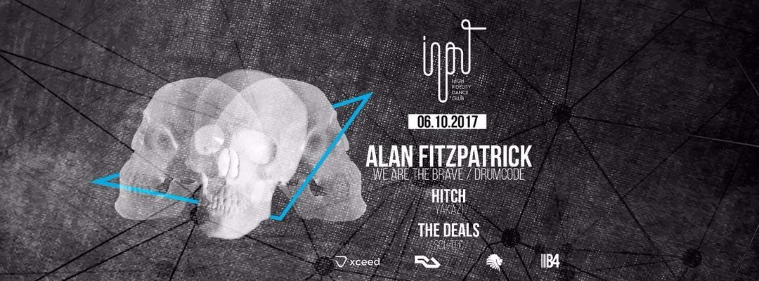 Input presents Alan Fitzpatrick event cover