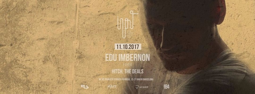 Input presents Edu Imbernon event cover