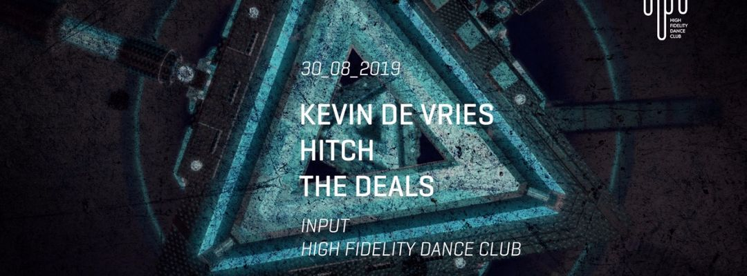 Input presents Kevin de Vries event cover