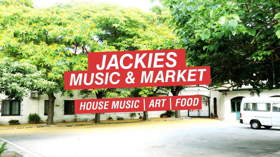 Jackies Music & Market - House Music, Food & Art event cover