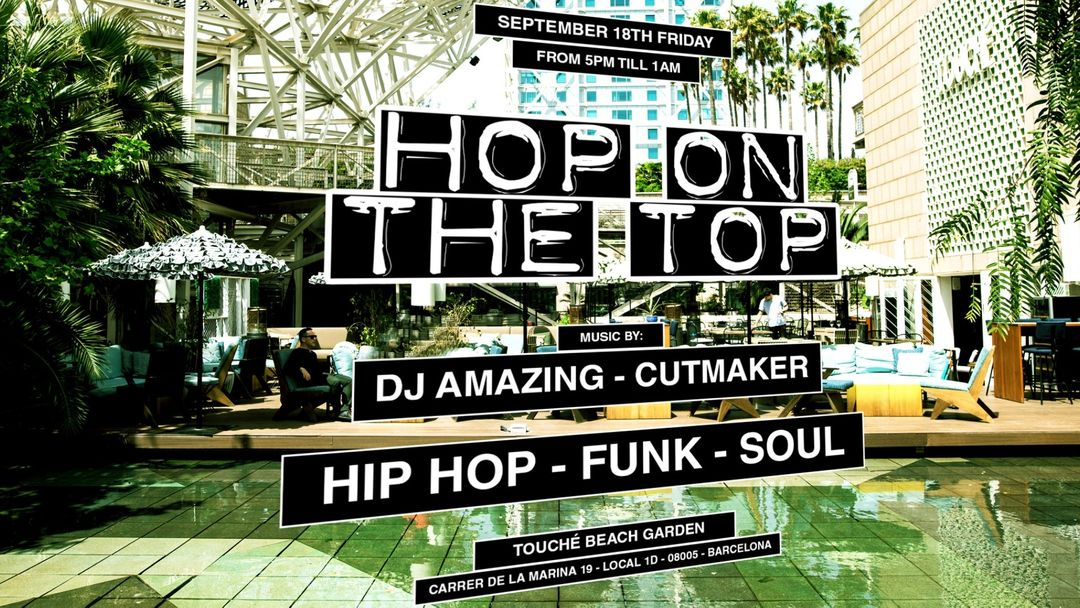 Jackies pres: Hop On The Top - Hip Hop, Funk & Soul event cover
