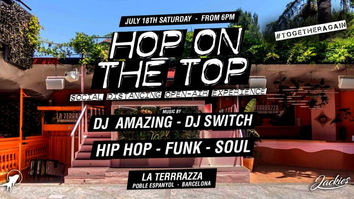 Cover for event: Jackies Pres: Hop On The Top Open Air - Hip Hop, Funk & Soul