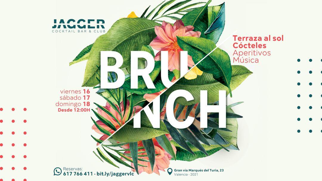 Cartell de l'esdeveniment Jagger Brunch