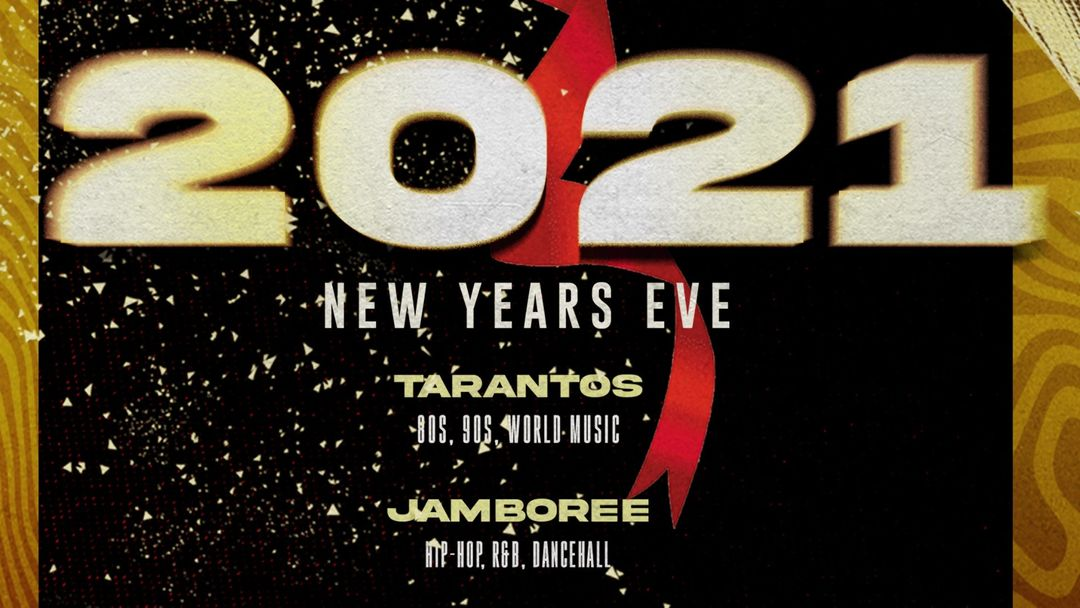 Jamboree New Years Eve Party-Eventplakat