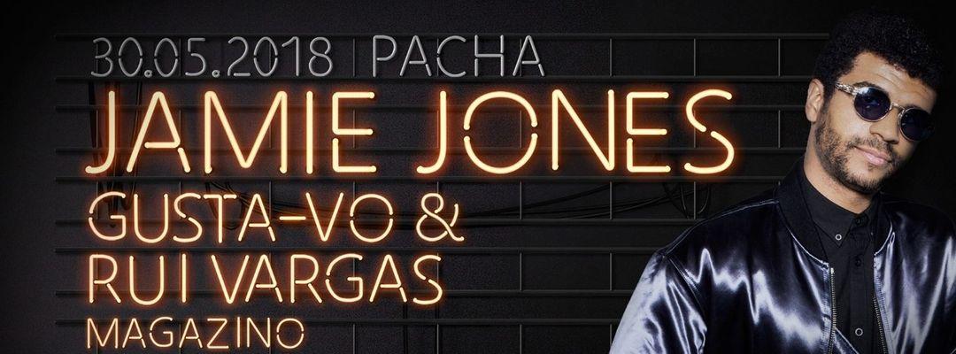 Cartell de l'esdeveniment JAMIE JONES @ PACHA OFIR - 30 MAIO