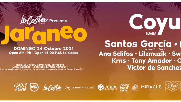 Cover for event: Jaraneo & La Costa presenta COYU (Suara)!