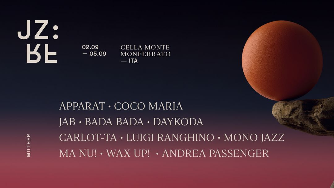Giorno Quattro: Apparat, Jab, Daykoda, Coco Maria - Jazz Re Found Festival 2021 event cover