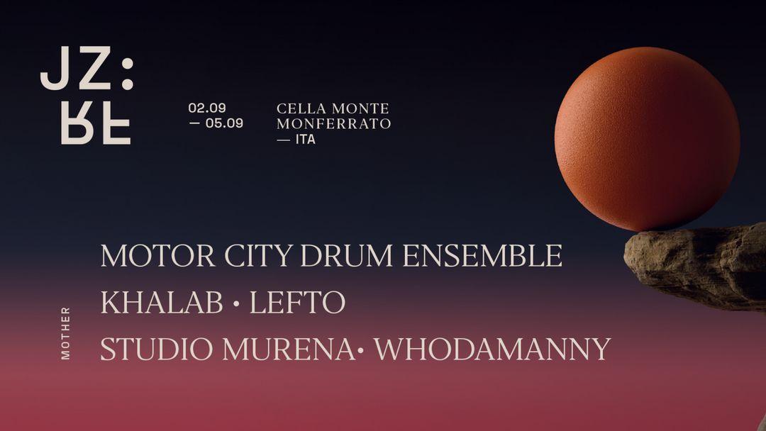 Couverture de l'événement Giorno Due: MCDE, Khalab, Lefto, Studio Murena - Jazz Re Found Festival 2021