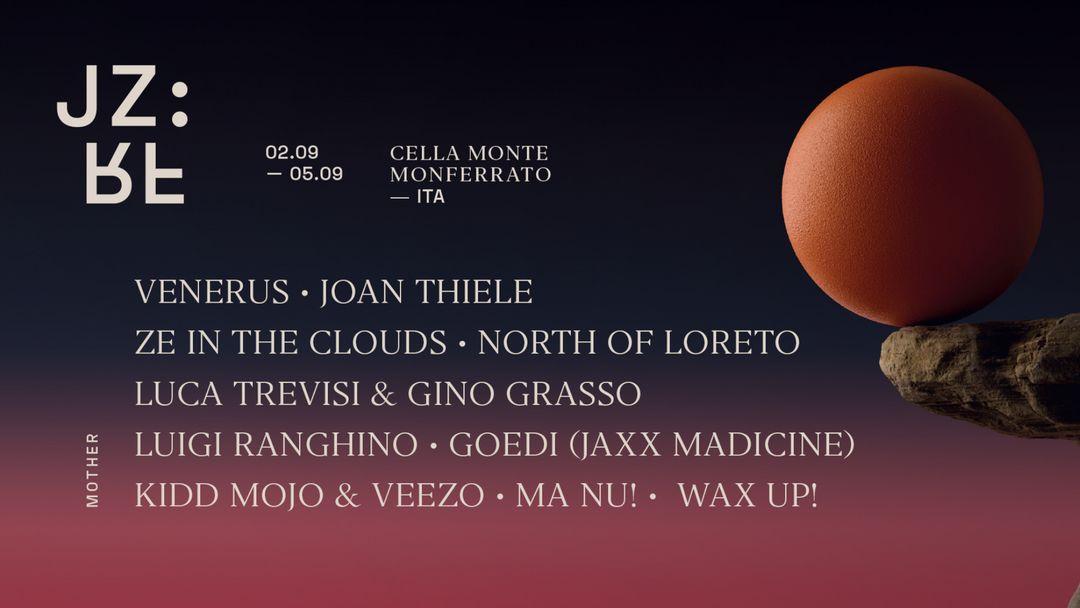 Giorno Tre: Venerus, Joan Thiele, North of Loreto, Wax Up! - Jazz Re Found Festival 2021 event cover