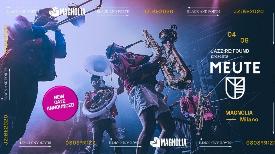 Cartel del evento Jazz Re Found presents MEUTE